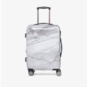Calpak Astyll Milk Marble Carry-On Suitcase